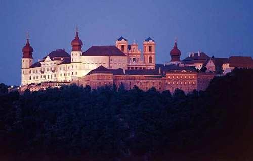 Blick auf Schloss Göttweig